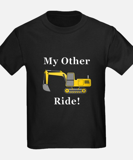 Track Hoe My Other Ride T