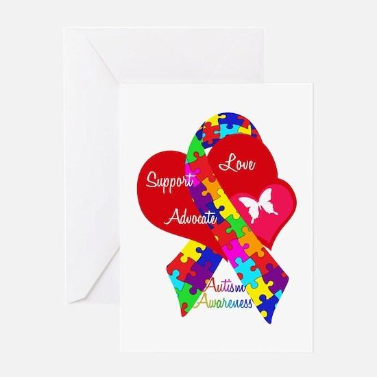 Autism Ribbon Greeting Card