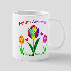 Autism Awareness Tulip Mug