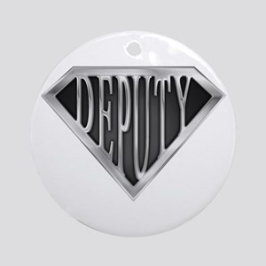SuperDeputy(metal) Ornament (Round)
