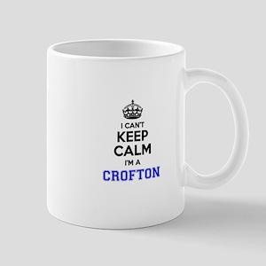 CROFTON I cant keeep calm Mugs