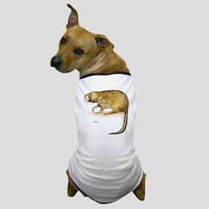 Muskrat Rodent Dog T-Shirt