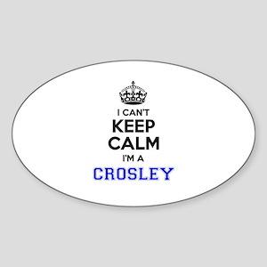 CROSLEY I cant keeep calm Sticker