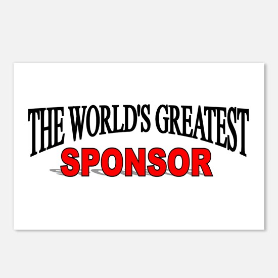 """""""The World's Greatest Sponsor"""" Postcards (Package"""