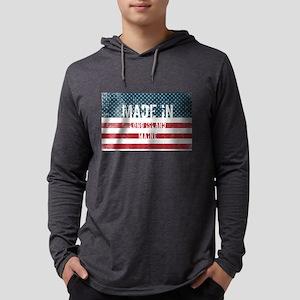 Made in Long Island, Maine Long Sleeve T-Shirt
