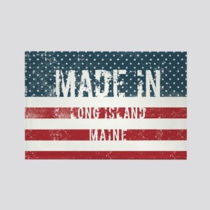 Made in Long Island, Maine Magnets