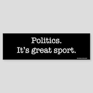 Politics sports Bumper