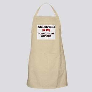 Addicted to my Corrections Officer Apron