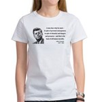 John F. Kennedy 10 Women's T-Shirt