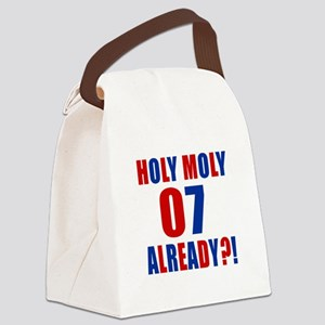 07 Holy Moly Birthday Designs Canvas Lunch Bag