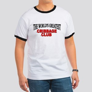 """The World's Greatest Cribbage Club"" Ringer T"