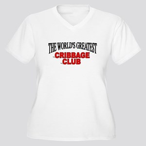 """""""The World's Greatest Cribbage Club"""" Women's Plus"""