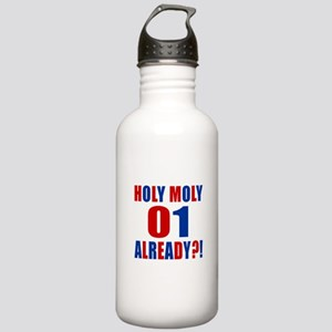 01 Holy Moly Birthday Stainless Water Bottle 1.0L