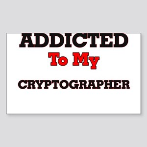 Addicted to my Cryptographer Sticker