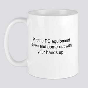 Equipment Down Mugs
