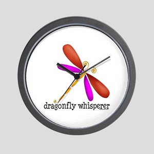 Lg. Dragonfly Wall Clock