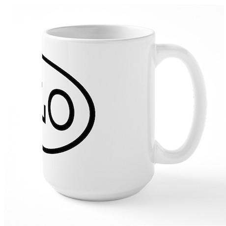 JLO Oval Large Mug