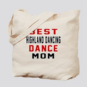 Highland dancing Dance Mom Designs Tote Bag