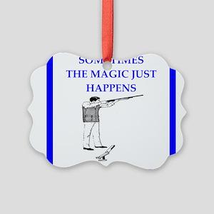 trap shooting joke Ornament