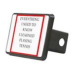 tennis joke Hitch Cover