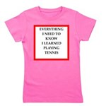 tennis joke Girl's Tee