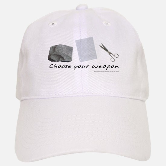 Choose your weapon Baseball Baseball Cap