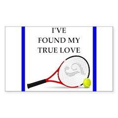 tennis joke Stickers