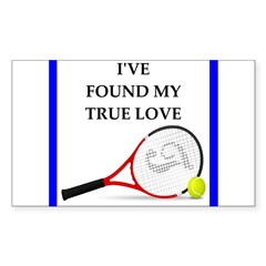 tennis joke Stickers