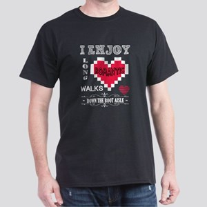 I Enjoy Long Romantic Walks T Shirt T-Shirt