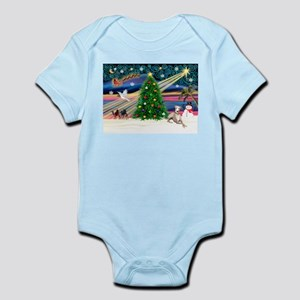 XmasMagic / Whippet (#2) Infant Bodysuit