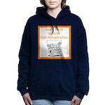tennis joke Women's Hooded Sweatshirt