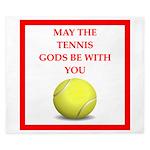 tennis joke King Duvet