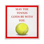 tennis joke Queen Duvet