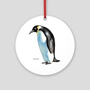 Emperor Penguin Ornament (Round)