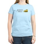 Christmas Bulldozer Women's Light T-Shirt