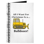 Christmas Bulldozer Journal