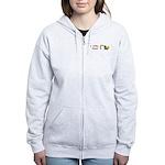 I Love Hoes Women's Zip Hoodie