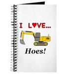I Love Hoes Journal