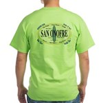 San Onofre Green T-Shirt