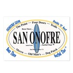 San Onofre Postcards (Package of 8)