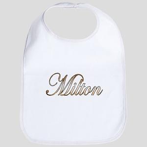Gold Milton Bib