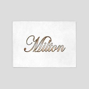 Gold Milton 5'x7'Area Rug