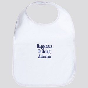 Happiness is being Amarion Bib
