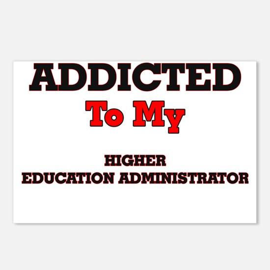 Addicted to my Higher Edu Postcards (Package of 8)