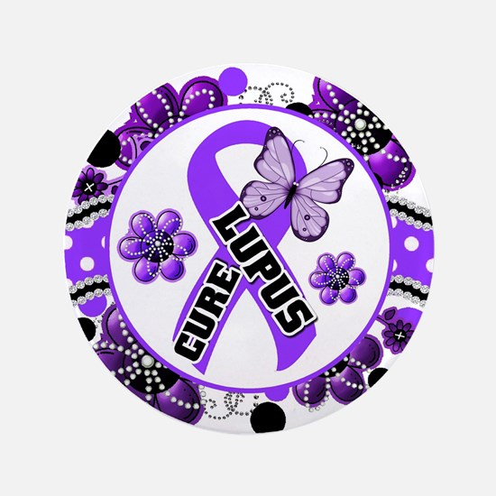 "Lupus 3.5"" Button (100 pack)"