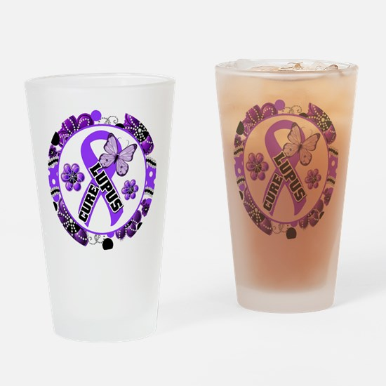 Lupus Drinking Glass