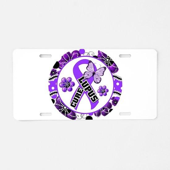 Lupus Aluminum License Plate