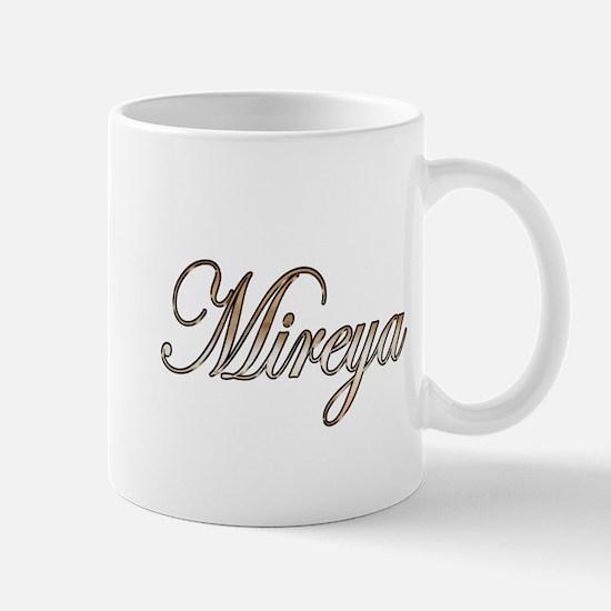 Gold Mireya Mugs