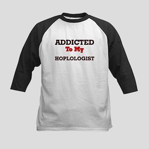 Addicted to my Hoplologist Baseball Jersey