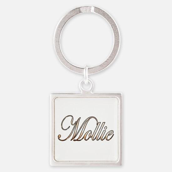 Cute Mollie Square Keychain